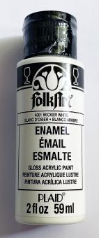FolkArt Enamel 4001 Wicker White 59 ml