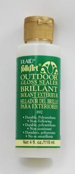 FolkArt 892 Outdoor Gloss Sealer Brillant (Lack Glänzend) 118 ml