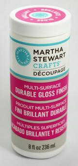 Martha Stewart Crafts™ Découpage Multi-surface durable gloss finish