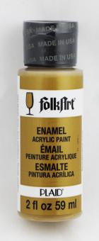 FolkArt Enamel 4033 Metallic Gold 59 ml