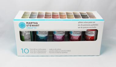 Martha Stewart Crafts™ Glitter 10-Set