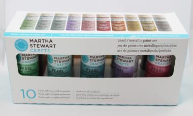 Martha Stewart Crafts™ Pearl-Metallic 10-Set