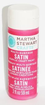 Martha Stewart Crafts™ Satin Pink Dahlia