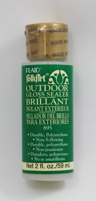 FolkArt 895 Outdoor Gloss Sealer ( Lack Glänzend) 59 ml