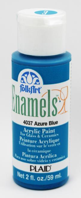 FolkArt Enamels 4037 Azure Blue 59ml