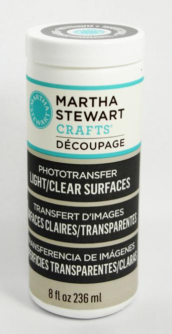 Martha Stewart Crafts™ Découpage Phototransfer Light/Clear Surfaces