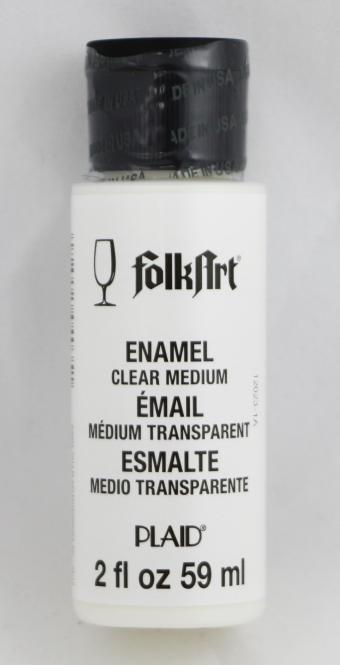 FolkArt Enamel 4035 Clear Medium 59 ml