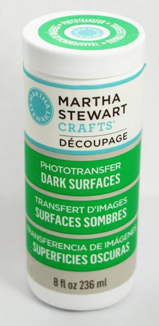 Martha Stewart Crafts™ Découpage Phototransfer Dark Surfaces