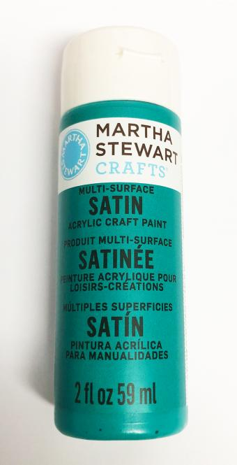 Martha Stewart Crafts™ Satin Marmaid Teal