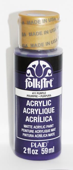 FolkArt 411 Purple 59ml