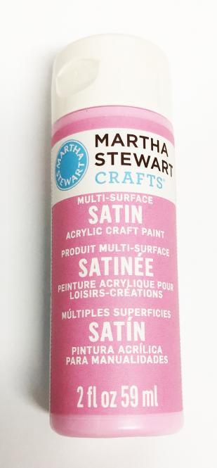 Martha Stewart Crafts™ Satin Rose Pink