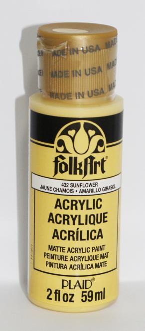 FolkArt 432 Sunflower 59ml